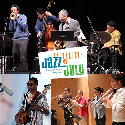 Jazz In July Jazz Improvisation Program at Jazz in July Concert Series at UMASS Fine Arts Center