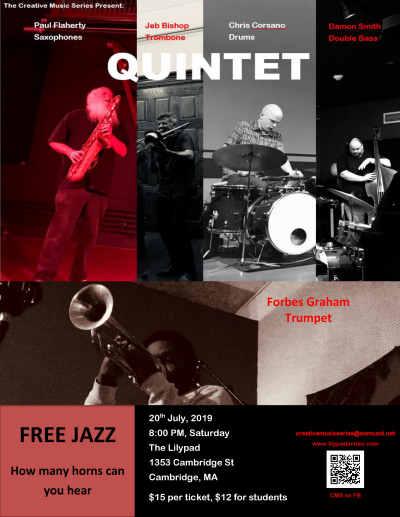 More Unrestricted, Unrehearsed And Creative Music Ala Free-jazz at Lilypad