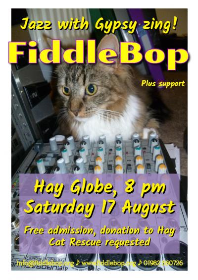 Fiddlebop at The Globe At Hay