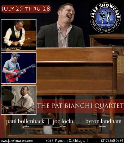 Pat Bianchi Quartet at Jazz Showcase