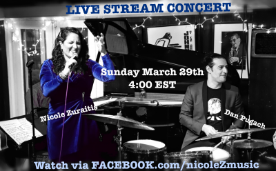 Nicole Zuraitis And Dan Pugach Live Stream Concert at Live From Nicole's