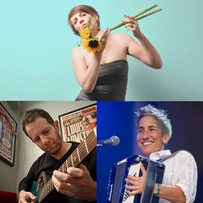 Kate Mcgarry, Keith Ganz, And Julie Wolf - Valentine's Love Fest at Piedmont Piano Company