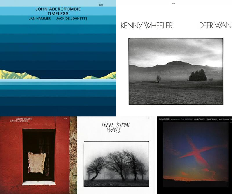 Five Classic ECM Titles in High Res