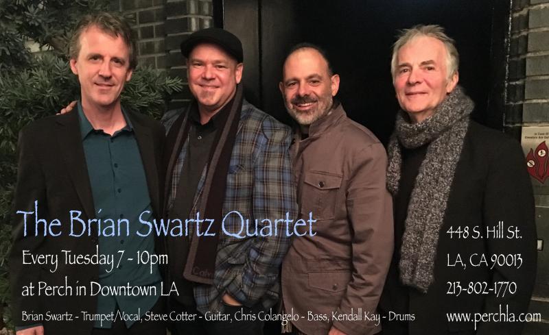 The Brian Swartz Quartet at Perch