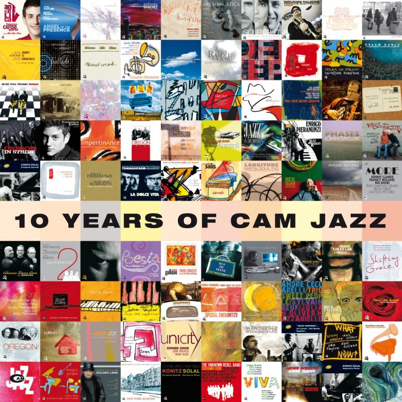 To Honor CAM Jazz 10th Anniversary  90 Albums Including Special 84-Track Compilation Available on the iTunes Store Today