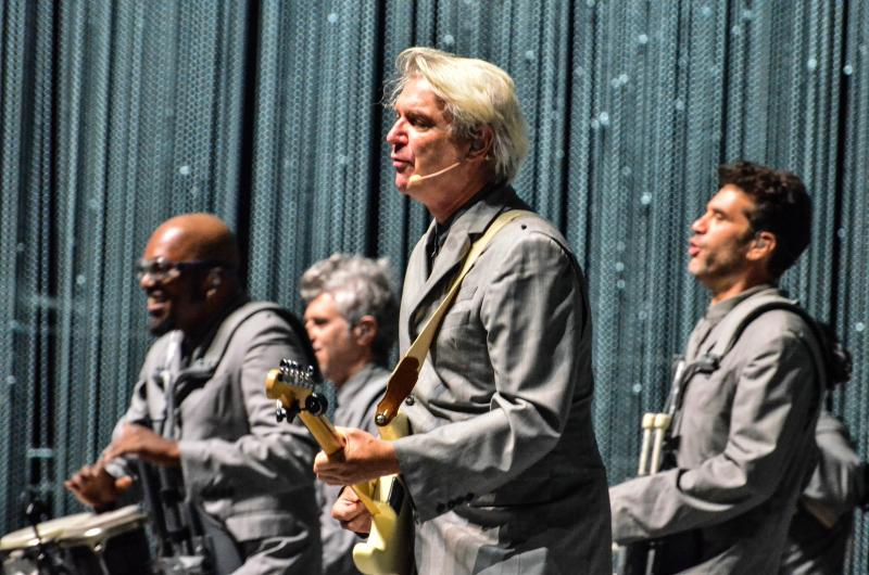 David Byrne at Forest Hills Stadium