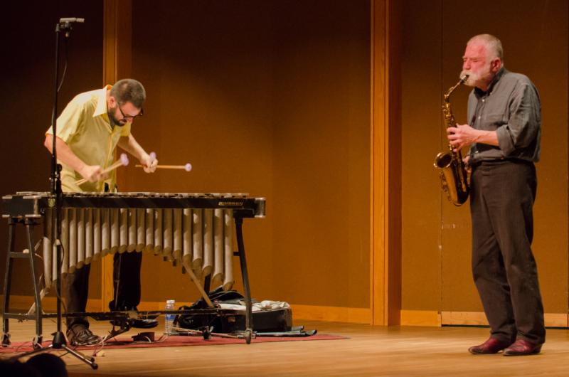 Peter Brötzmann & Jason Adasiewicz: Delaware, Ohio, September 9, 2012