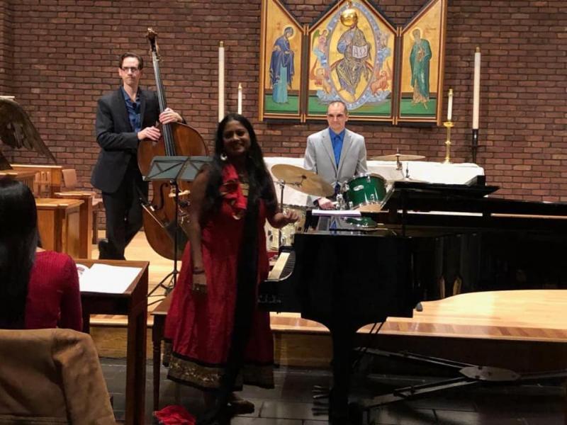 Charu Suri Trio  at St. John's In The Village