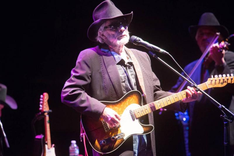 Merle Haggard at the Paramount Theater