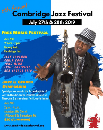 6th Annual Cambridge Jazz Festival at Danehy Park