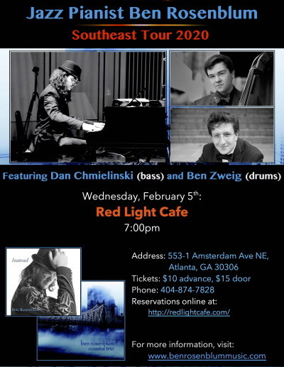 Ben Rosenblum Trio at Red Light Cafe