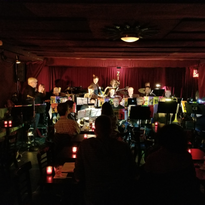 Bill Warfield And The Hell's Kitchen  Funk Orchestra   at Zinc Bar