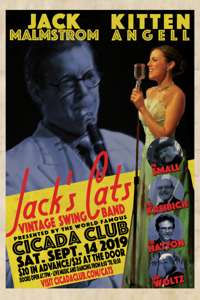 Jack's Cats at Maxwell Demille's Cicada Club