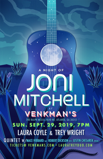 A Night Of Joni Mitchell at Venkman's