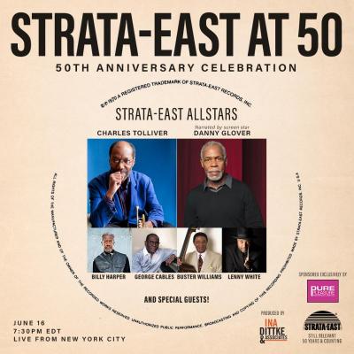Strata-East At 50! at Birdland
