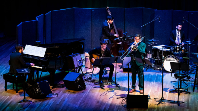 Frost Studio Jazz Band—celebrating The Artistry Of Women Composers In Jazz at Gusman Concert Hall