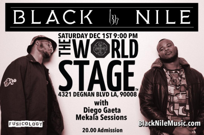 BLACK NILE w/ The Brothaz Shaw • DwighTrible Presents at Autumn Jazz Concert Series + at The World Stage