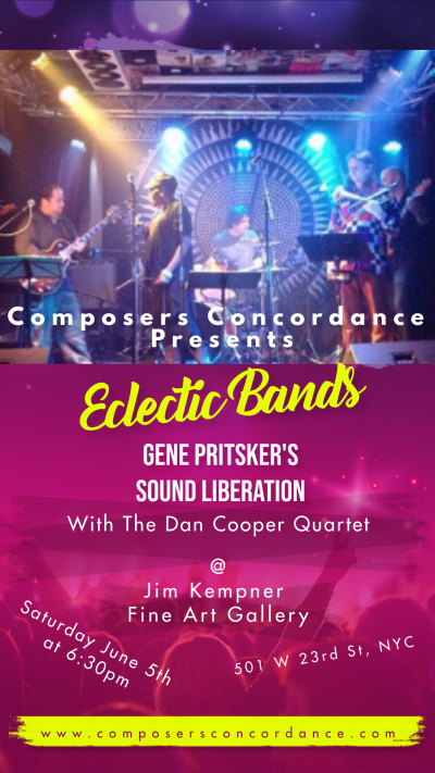 Eclectic Bands at Jim Kempner Fine Art Gallery