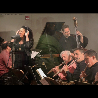 Larry Mckenna Jazz Orchestra Featuring Vocalist, Joanna Pascale at Chris' Jazz Cafe
