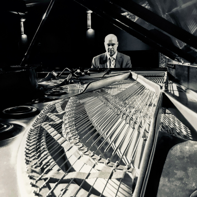 Larry Fuller Trio at The Side Door Jazz Club