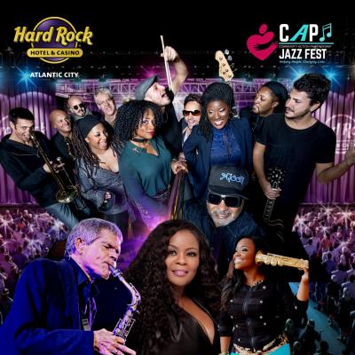 Roy Ayers, David Sanborn, Camille Thurman and more! at CAP Jazz Festival at Hard Rock Hotel & Casino Atlantic City