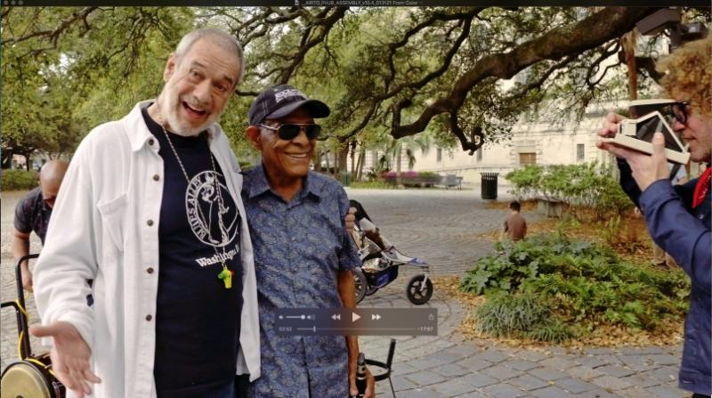 Resurrection! Legendary Percussionist Airto Moreira & The Preservation Hall Jazz Band