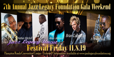 Brian Culbertson-eric Darius-jazz Legacy Uncut at Jazz Legacy Foundation Gala Weekend (jazz Fest) at Hampton Roads Convention Center