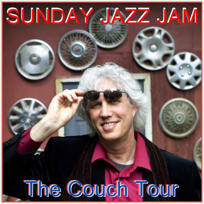 Andy Wasserman Couch Tour Livestream: Solo Piano - Sunday Jazz Jam at Transmedia Sound & Music