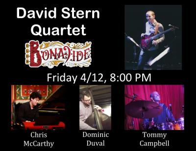 David Stern Quartet at Club Bonafide