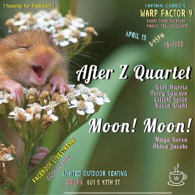 Warp Factor 9 Livestream: After Z Quartet/ Moon! Moon! at The Philadelphia Suzuki Piano Academy