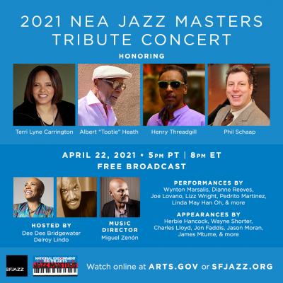 NEA Jazz Masters 2021 at SFJAZZ Center