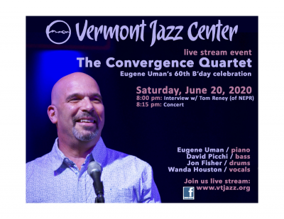 Helen Sung, Marcus Mclaurine, And Steve Wilson-   Livestream Concert For The Vermont Jazz Center  at Vermont Jazz Center