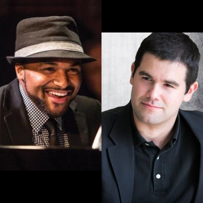 Sullivan Fortner And Kyle Athayde at Piedmont Piano Company
