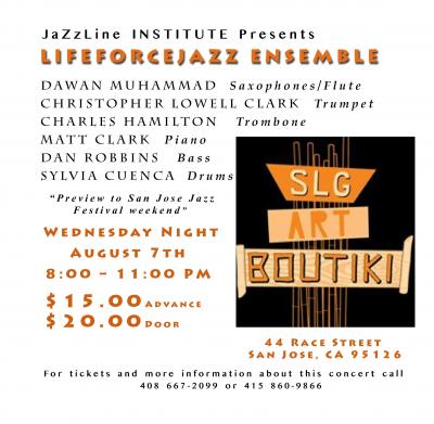 Lifeforcejazz Ensemble at Art Boutiki