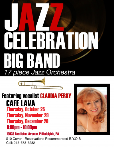 Jazz Celebration Big Band at Cafe Lava