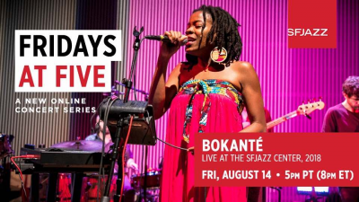Bokanté (virtual Livestream Concert) at SFJAZZ Center