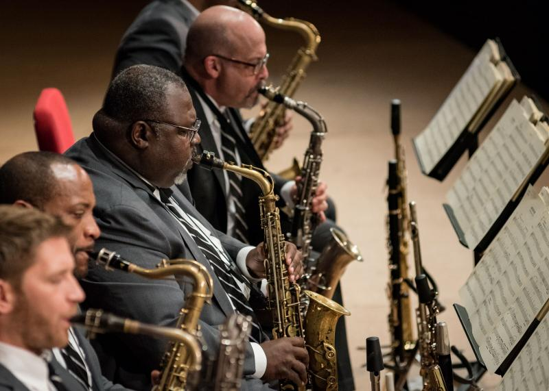 Jazz at Lincoln Center Orchestra with Wynton Marsalis at Mechanics Hall