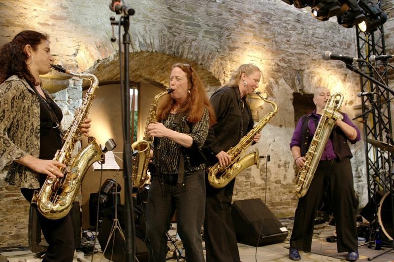 The Tiptons Saxophone Quartet