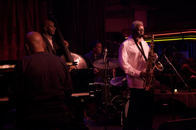 Pharoah Sanders Quartet: New York, March 20, 2012