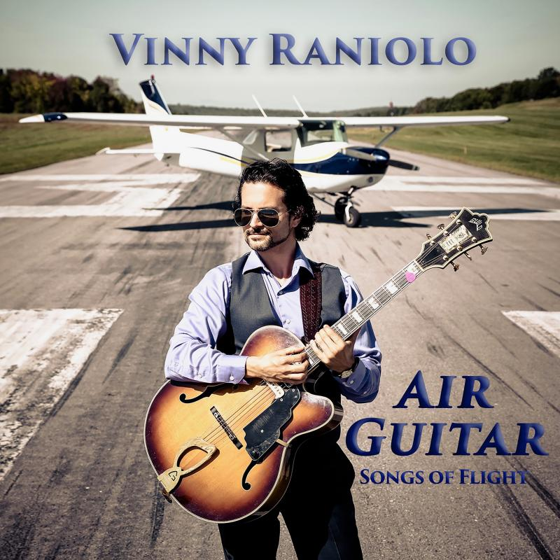 Vinny Raniolo's Album Release Party on Friday, April 27th from 7pm-11pm at Reckson Center at the Cradle of Aviation Museum in Garden City, Long Island