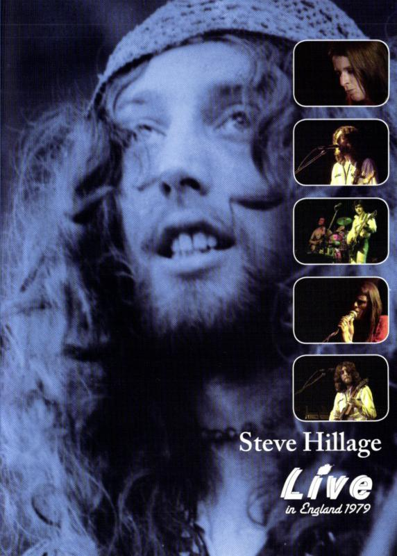 Guitar Legend Steve Hillage Releases Rare Live In England 1979 CD/DVD Set
