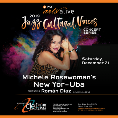 Michelle Rosewoman's New Yo-Ruba, Feat. Roman Diaz at Philadelphia Clef Club Of Jazz