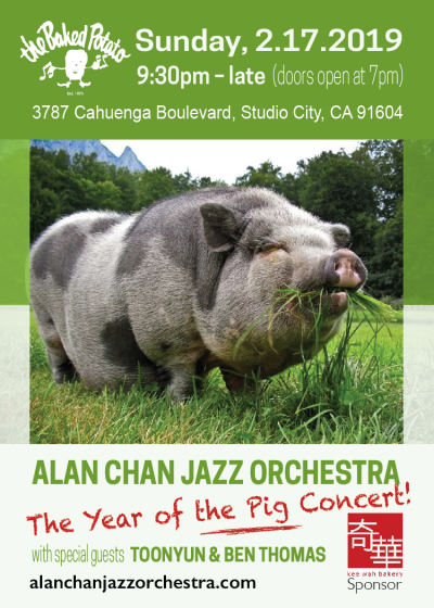 Alan Chan Jazz Orchestra: The Year Of The Pig Concert at The Baked Potato