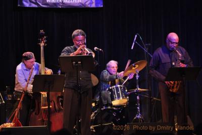 Ogjb Quartet: Oliver Lake, Graham Haynes, Joe Fonda, Barry Altschul at Roulette