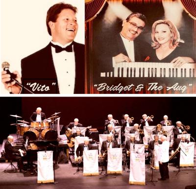 Az Swing Kings Jazz Orchestra, With Vito And Bridget Maynes at Arizona Broadway Theatre