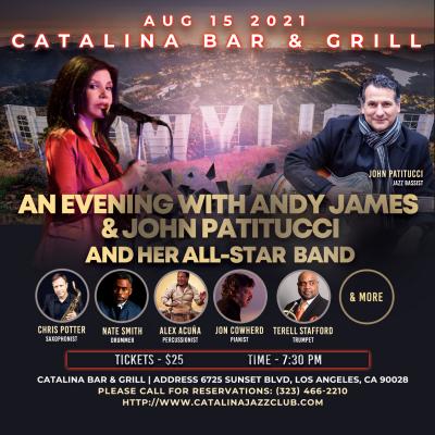 Andy James & John Patitucci at Catalina Bar & Grill