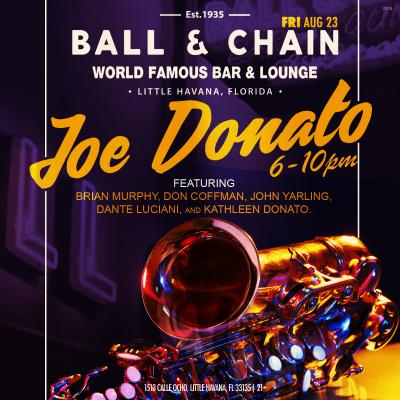 Joe Donato at Ball & Chain