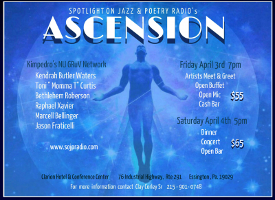 Spotlight On Jazz & Poetry: Ascension at Clarion Hotel & Conference Center