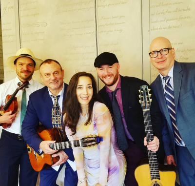 Hot Club Of Philadelphia & The Cheddar Boys at The Living Room At 35 East