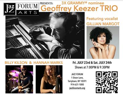 Geoff Keezer Quartet feat. Gillian Margot  at Jazz Forum